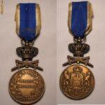 Medalia Serviciul Credincios Clasa a 3 a cu spade